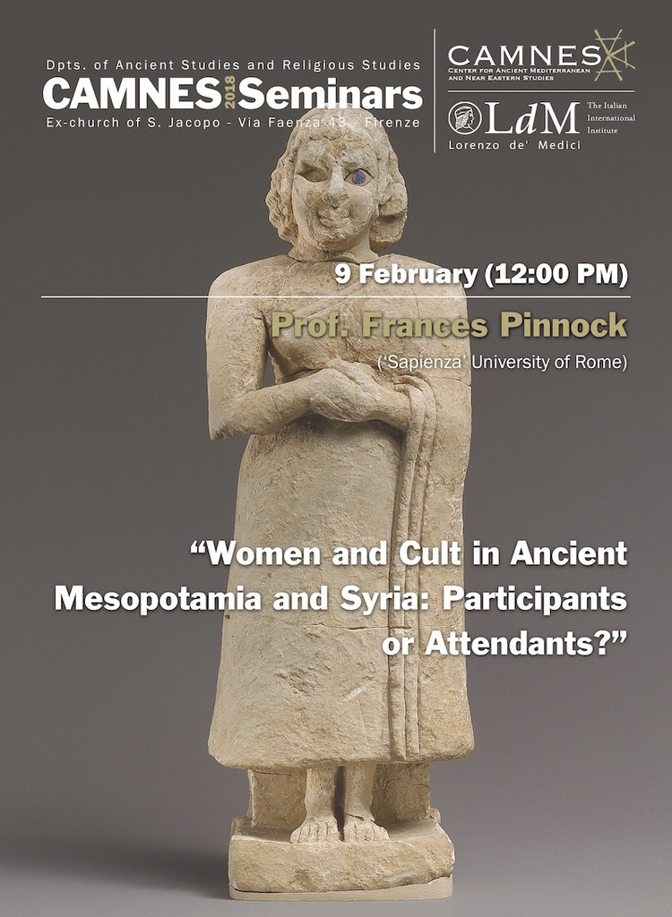 Women and cult in ancient Mesopotamia and Syria: Participants or Attendants?
