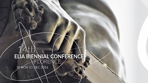 14th ELIA BIENNIAL CONFERENCE in Florence, Italy